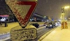 De la neige ce matin sur l'Est de la France