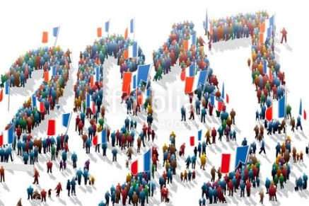 66.991.000 habitants en France en 2017 (Fotolia)