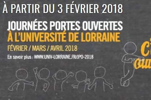 Journées portes ouvertes à l'université de Lorraine