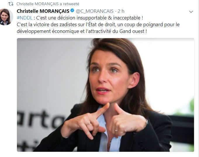La président du conseil régional des Pays de Loire est furieuse