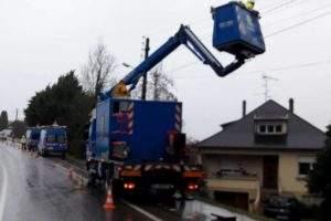 Encore 3.000 foyers privés d'électricité en Lorraine (enedis)