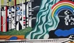 Oeuvre de Fernand Léger (Le Transport des forces) sur les murs du Palais de la Découverte à Paris Jean-Pierre Dalbéra/Flickr, CC BY