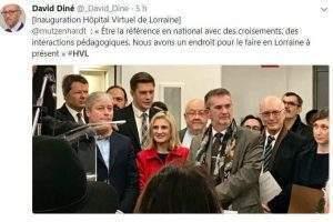 Inauguration de l'Hôpital Virtuel de Lorraine sur le Technopôle de Brabois (DR)