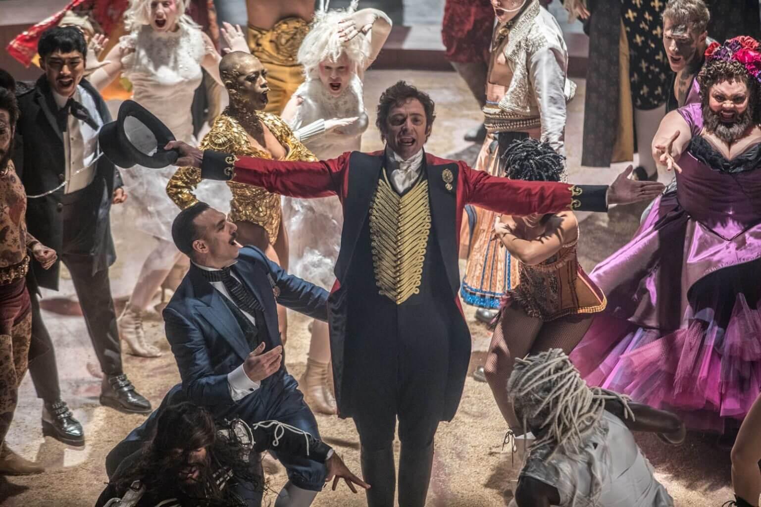 """Hugh Jackman chante, danse, joue la comédie... il est """"The Greatest Showman""""."""