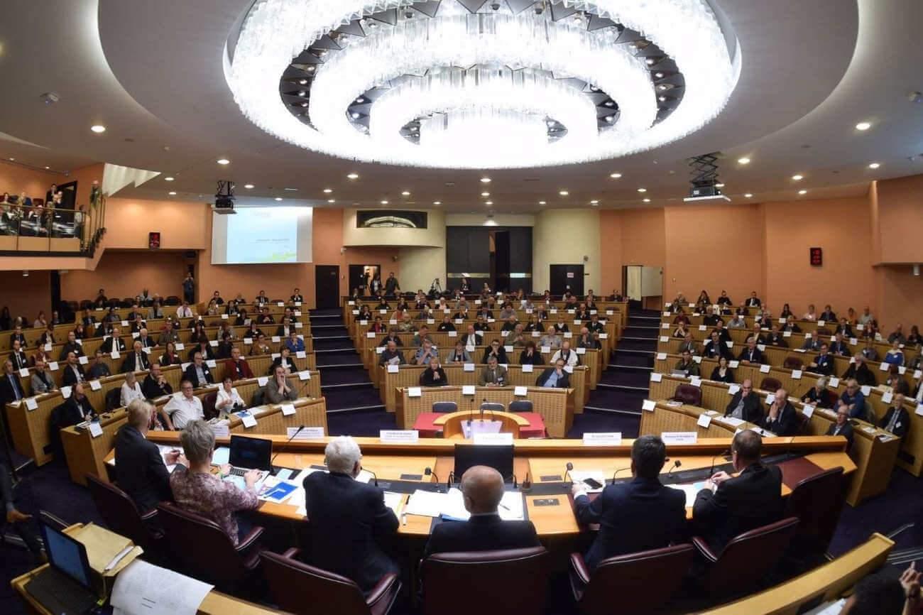 Le CESER, deuxième assemblée régionale, a été installé ce mardi 16 janvier 2018. (Photo Stadler, région Grand Est)