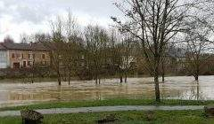 Les rivières sortent de leur lit un peu partout dans l'est de la France