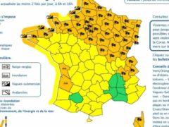 Alerte aux vents violents dans 48 départements (Météo France)