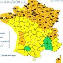 Tempête Eleanor : Météo France étend la vigilance orange à 48 départements