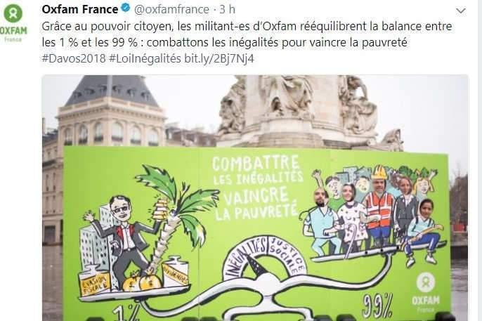Oxfam dénonce les inégalités criantes entre riches et pauvres
