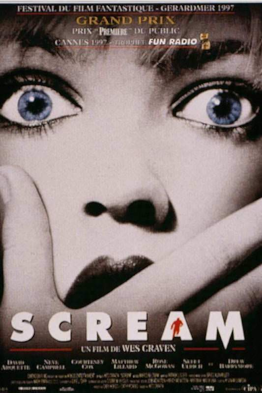 """""""Scream"""" de Wes Craven, Grand Prix des Grand Prix."""