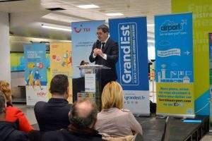 Lorraine Airport: bilan et perspectives par Jean Rottner (photo région)