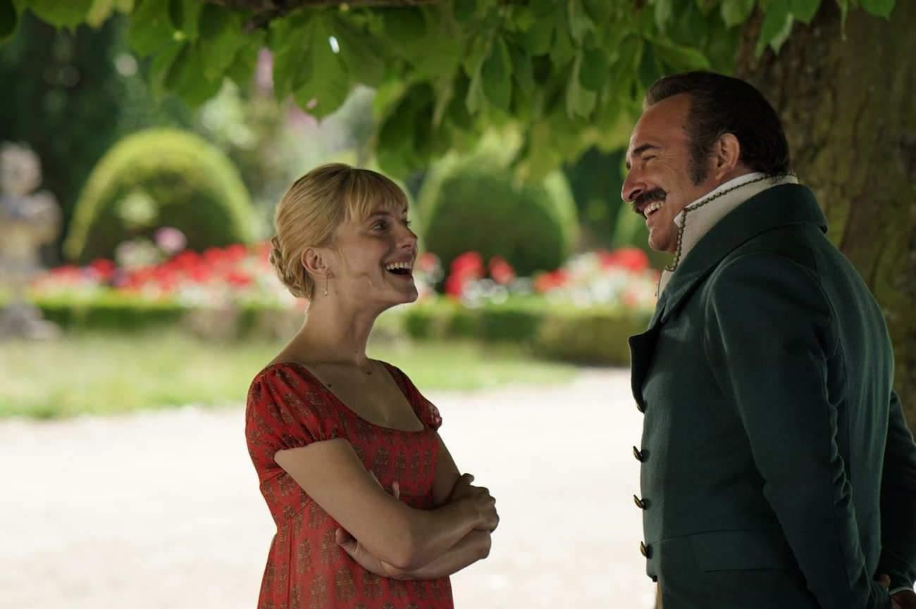 """""""Mélanie Laurent est très drôle naturellement"""", assure Jean Dujardin."""