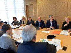 Réunion d'échanges sur la politique agricole (stadler-région Grand Est)