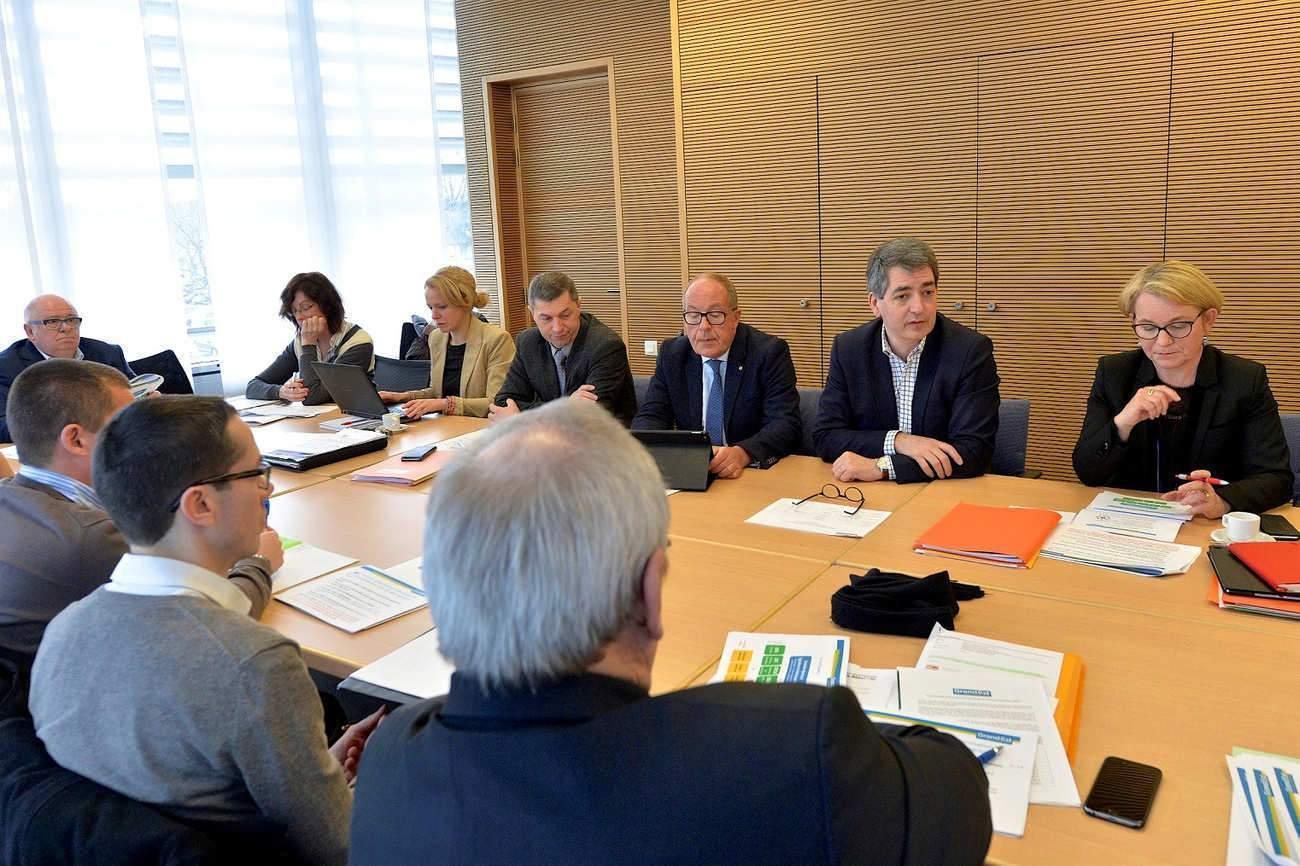 Politique agricole : échanges entre la Région Grand Est et les départements