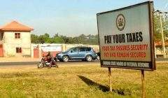 Campagne du gouvernement du Nigeria en 2013 pour inciter aux paiement des impôts. Allan Leonard/Flickr, CC BY-NC-ND