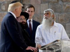 Donald Trump en visite à Jérusalem, en mai 2017. Wikipedia