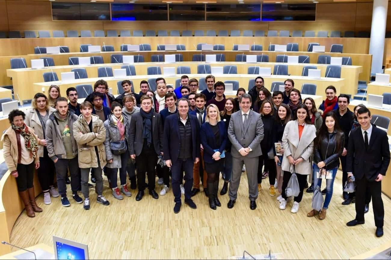 Rencontre du Conseil régional des jeunes Grand Est et de PACA (Photo Stadler, RGE)