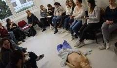 Un cours à l'hôpital virtuel de Lorraine (photo Factuel, université de Lorraine)
