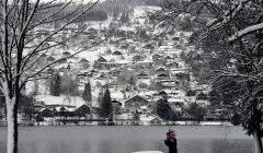 Vague de froid attendue sur la France la semaine prochaine . Ici, Gérardmer sous la neige. (photo DR)