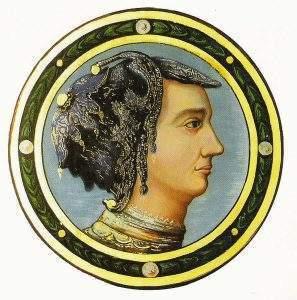 Le portrait de Jeanne des Armoises au château de Jaulny (54) qui n'est autre, de mon point de vue, que Jeanne d'Arc (DR)
