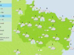 Offensive de l'hiver cette semaine (source: météo France)