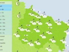 Vague de froid dans le Grand Est ce jeudi (Météo France)