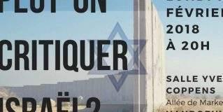 Peut-on critiquer Israël ?