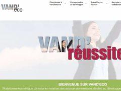 Vand'Eco, plateforme numérique dédiée à l'économie (capture)