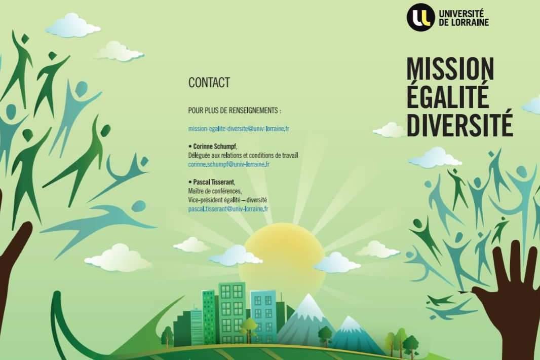 Mission égalité (création direction de la communication, U.L.)