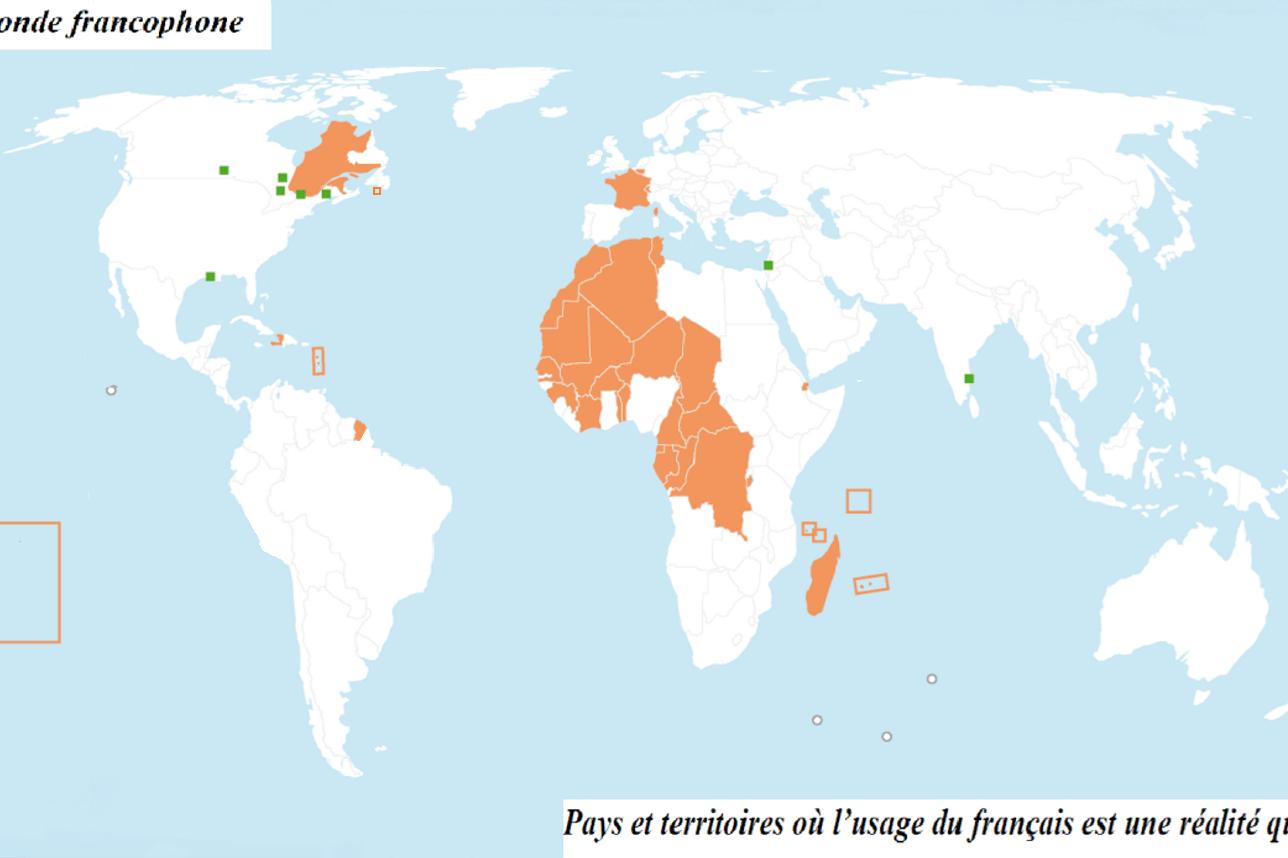Présentation du monde francophone