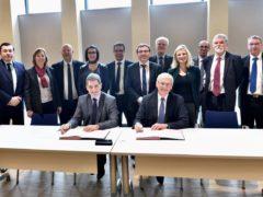 Signature de l'accord cadre entre la Région Grand Est et EDF (photo RGE)