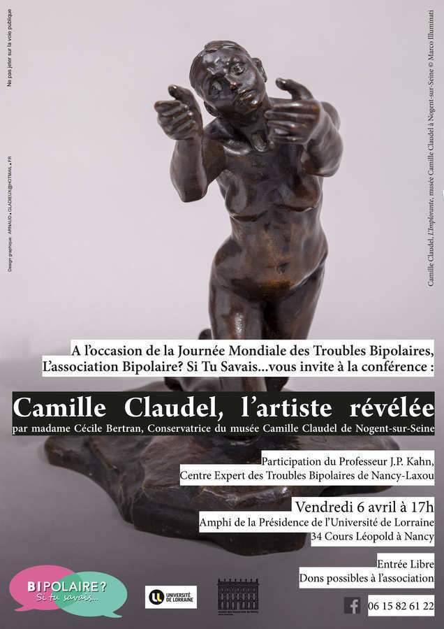 Conférence sur Camille Claudel, sculptrice