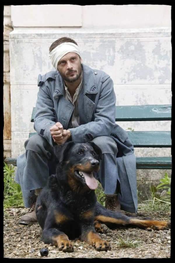 """Le Poilu et son chien. """"Il était plutôt cabot"""", confie l'acteur"""