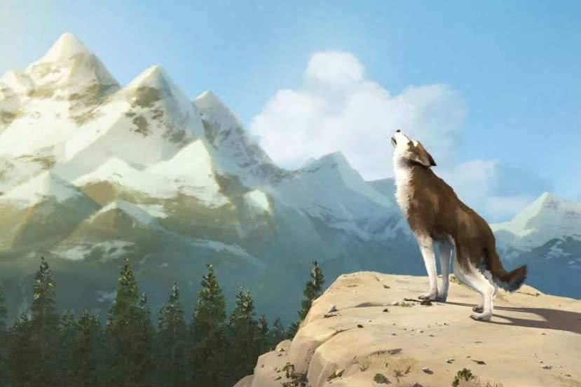 La nature est magnifiée dans ce film d'animation au graphisme proche de la peinture.