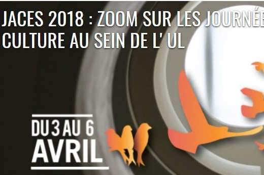 JACES 2018 : Prêts pour une évasion culturelle sur les campus de l'Université de Lorraine ?