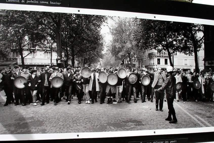 La révolte des étudiants à Paris (Photo credit: MPD01605 on VisualHunt.com / CC BY-SA)