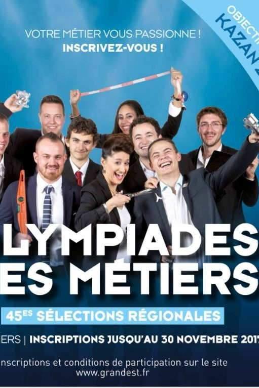 45èmes sélections des olympiades des métiers (Affiche RGE)