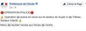 préfecture de l'Aude sur Facebook