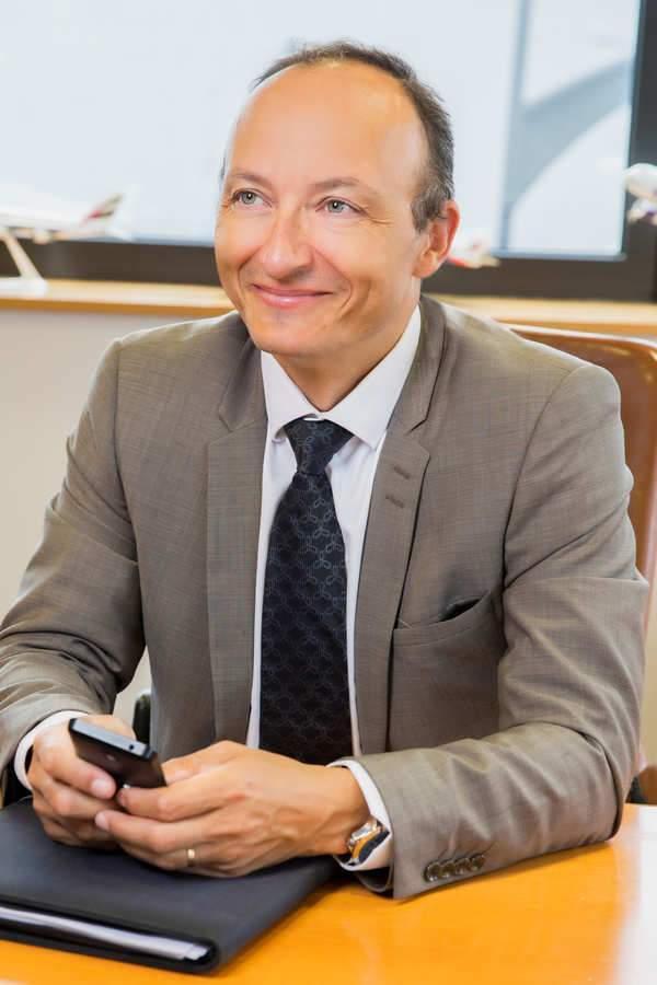 Stéphane Lafay, directeur général de Lorraine-Airport
