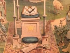 Symbologie des loges maçonniques féminines. Diario de Cadiz
