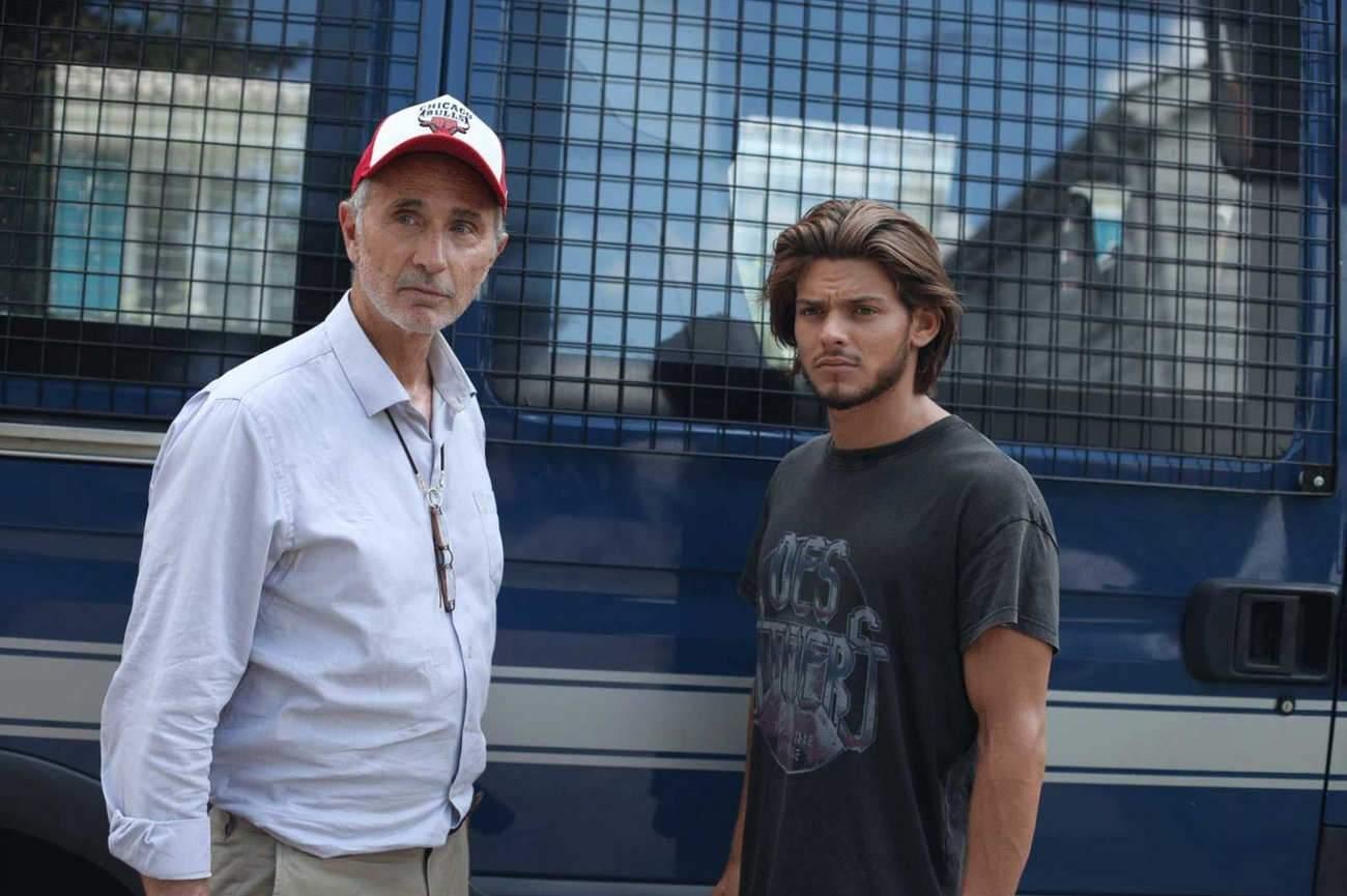 Thierry Lhermitte et Rayane Bensetti, un grand-père et un petit-fils qui vont apprendre à se connaître.