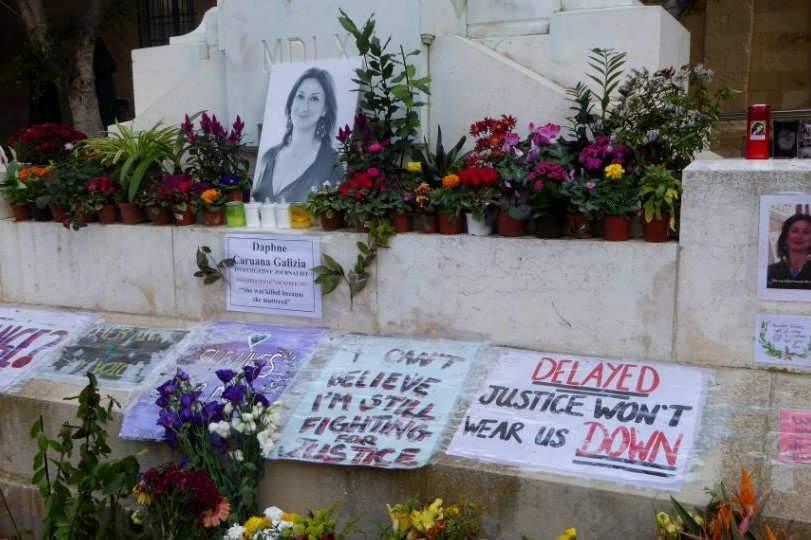 La journaliste Daphne Caruana Galizia, assassinée alors qu'elle enquêtait sur des affaires de corruption. (Wikimedia Commons)