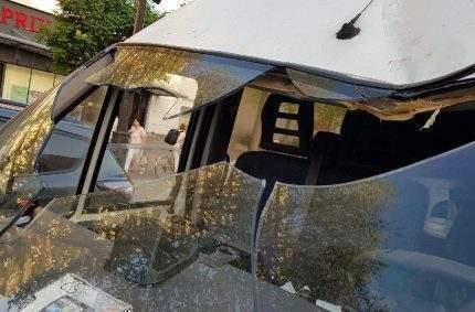 Tolbiac : un fourgon de la CRS 52 attaqué