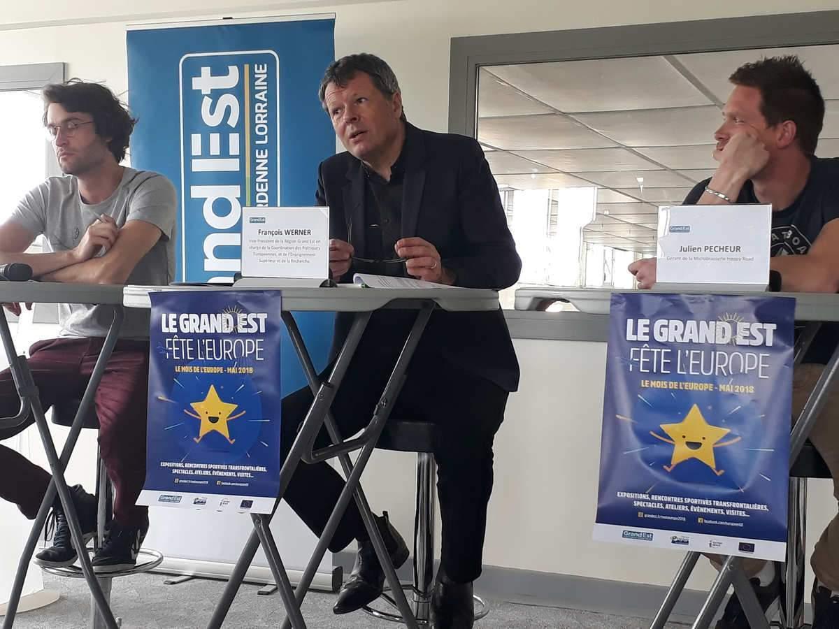 François Werner, vice-président de la Région Grand Est a lancé le Mois de l'Europe (photo région Grand Est)