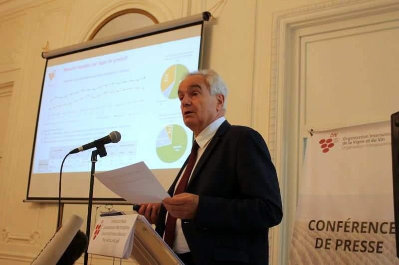 Jean-Marie Aurand directeur général de l'OIV (Photo OIV)
