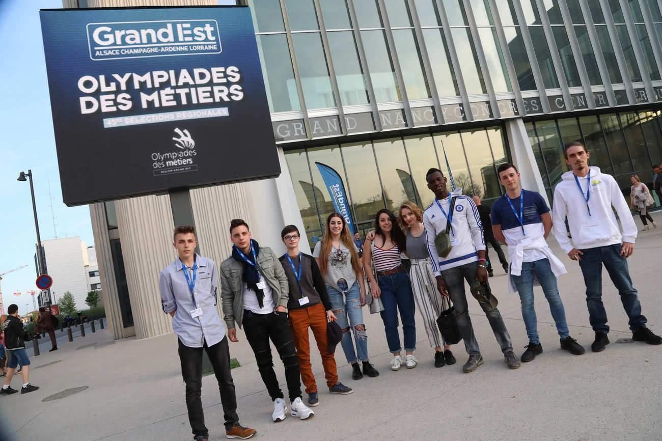 Olympiades des Métiers : 167 jeunes du Grand Est distingués