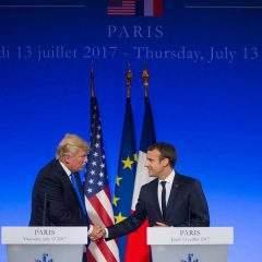 Macron à la Maison Blanche: mariage d'amour oumariage deraison?
