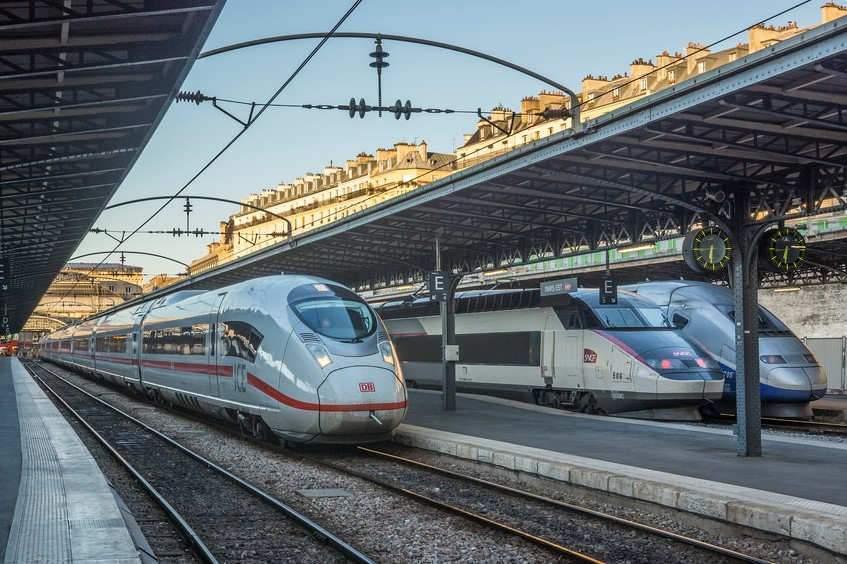 Les TGV de la Deutsche Bahn arrivent en gare (Photo credit: TGr_79 on Visualhunt / CC BY-SA)