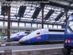 La bataille du rail commence aujourd'hui '(capture EuroNews)