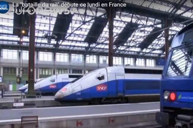 Réforme de la SNCF : en finir avec les données fausses sur les chemins de fer